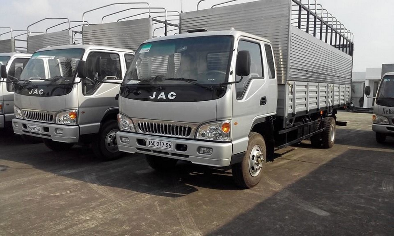Đại lý bán xe tải JAc 3 tấn 45/ 3t5=giá xe tải JAc 3.5 tấn thấp nhất trả góp