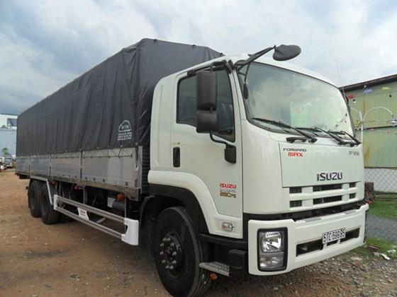 Bán xe tải Isuzu 3 chân 16 tấn, Giá xe tải Isuzu 16 tấn nhập khẩu