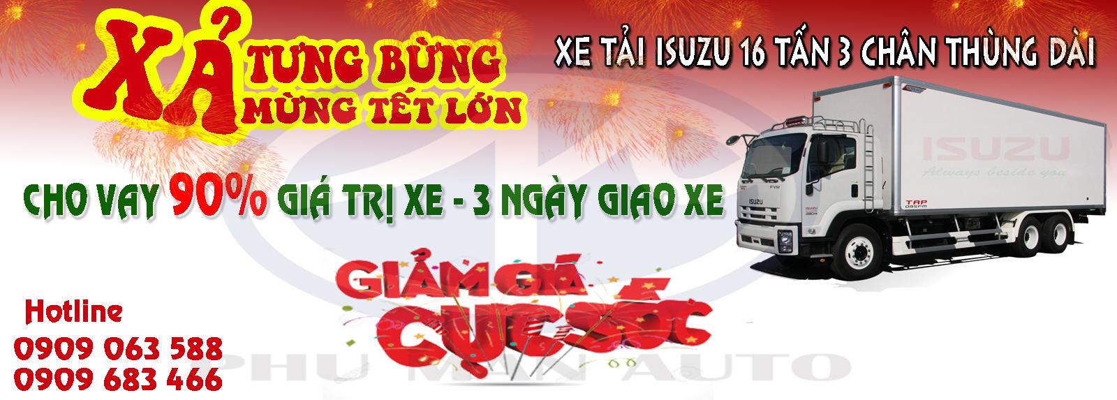 Giá xe tải Isuzu 16 tấn thùng dài/Nơi bán xe tải Isuzu 16 tấn 3 chân uy tín ở đâu??/