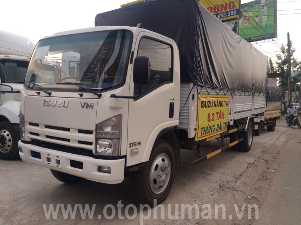 Xe tải isuzu 8.5 tấn / 8500kg đời 2016 lắp ráp 100% linh kiện isuzu tại Vĩnh Phát auto