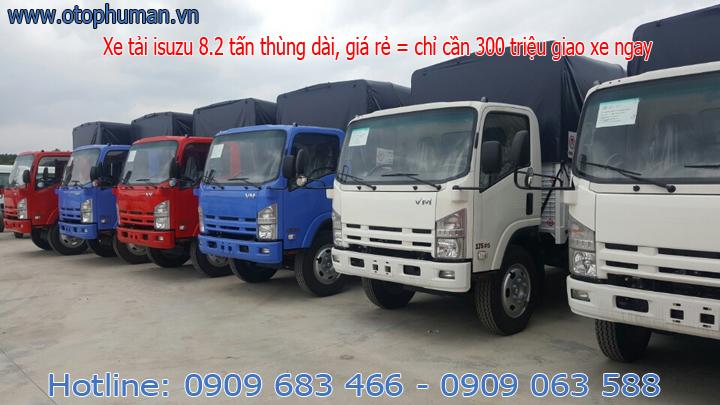 xe tải thùng kín 8 tấn - xe tải thùng mui bạt 8 tấn thùng dài 7 mét giá tốt nhất miền nam