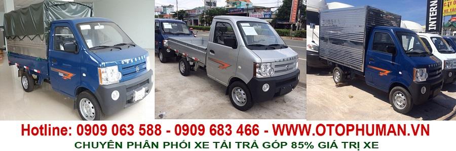 Xe tải nhẹ/ xe tải nhỏ giá rẻ - xe tải nhỏ 750kg ( tải nhỏ 800kg) 2 chỗ ngồi có máy lạnh