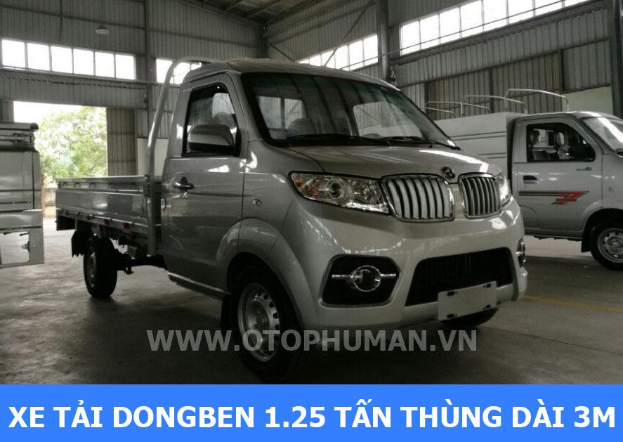 Xe tải bao nhiêu tấn được vào thành phố - xe tải dongben 1 tấn / dongben 1 tấn 25 thùng dài 3 mét