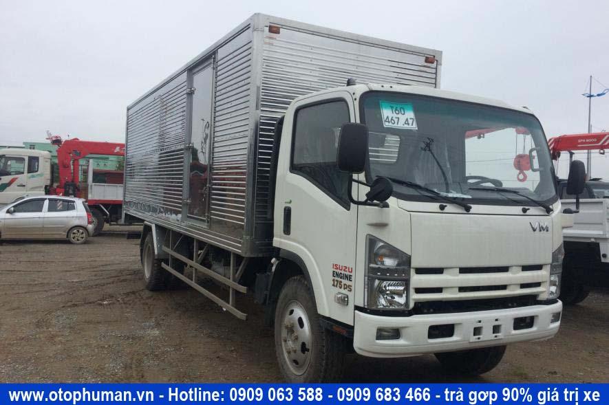 xe tải thùng kín 8 tấn giá rẻ - xe tải isuzu 8 tấn thùng dài 7 mét lắp ráp vĩnh phát
