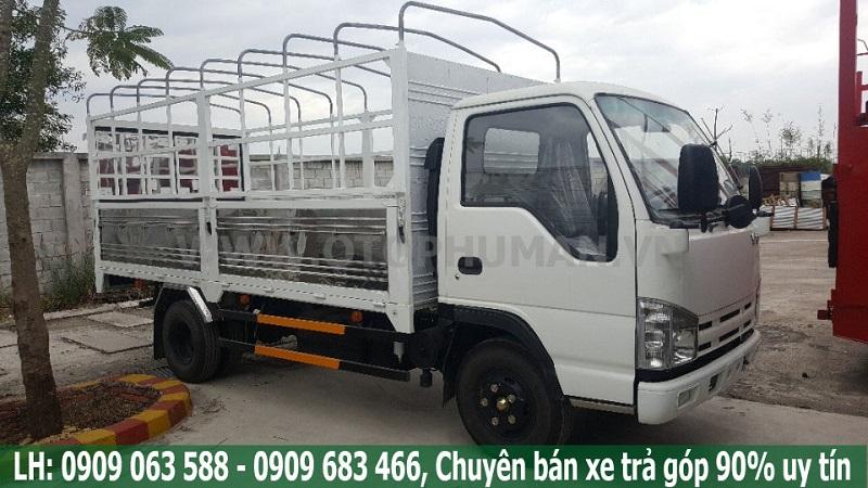 xe tải 3500kg thùng kín giá rẻ - xe tải isuzu 3500kg/ isuzu 3t5 thùng dài 4.3 mét