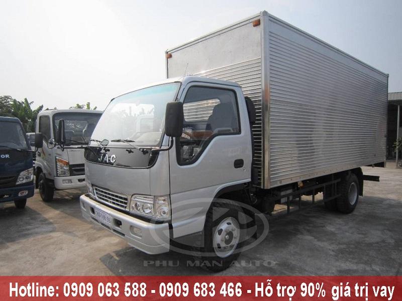 Xe tải thùng kín 1.25 tấn - xe tải mui bạt 1t25 máy dầu động cơ isuzu giá rẻ