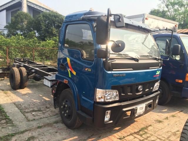 mua xe tải 5 tấn trả góp - Bán xe tải veam vt490 5 tấn thùng dài 6 mét trả góp 90%