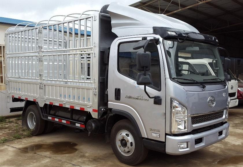 xe tải mui bạt 6 tấn giá rẻ - xe tải faw 6 tấn đời 2015 thùng dài 4.3 giá bán thanh lý