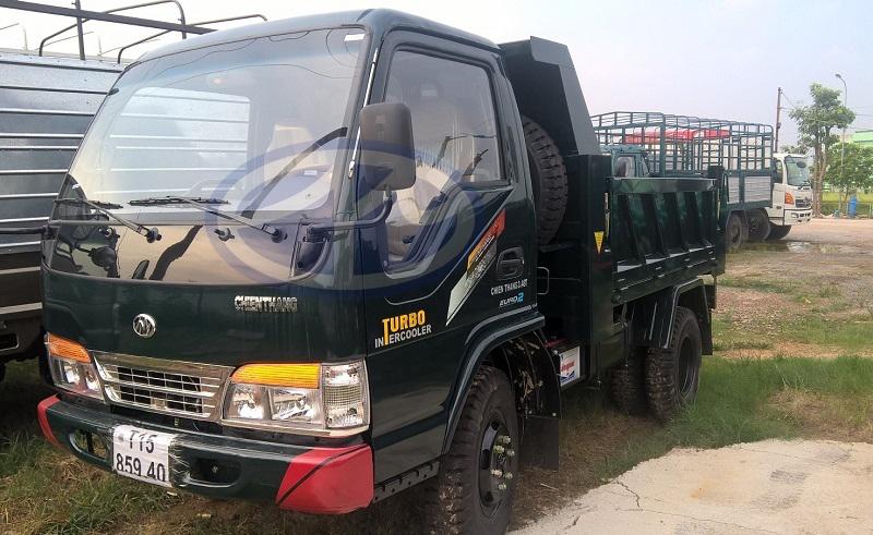 Bán xe ben (xe tải ben) chiến thắng 3.5 tấn giao ngay xe/giá xe ben 3.48 tấn giá rẻ
