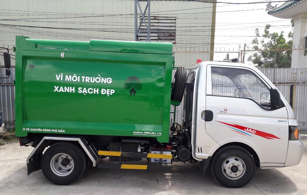 xe chở rác 3.4m3 jac x150