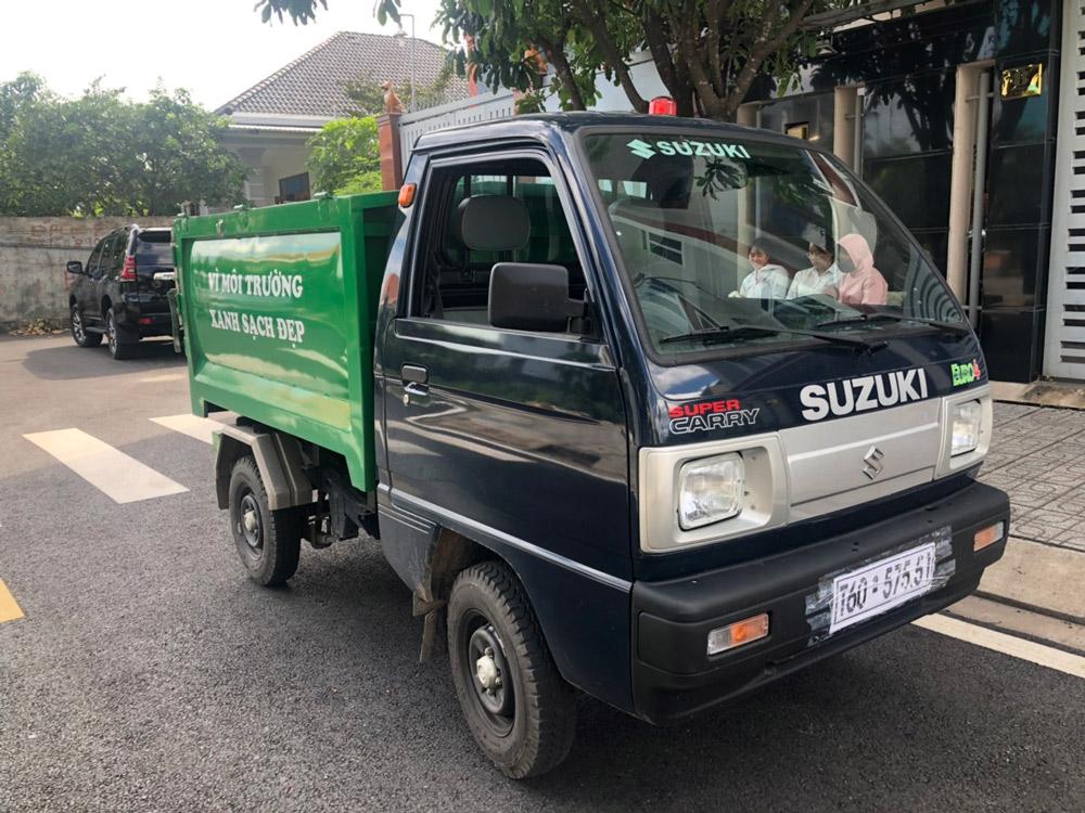 xe chở rác 1.7m3 suzuki