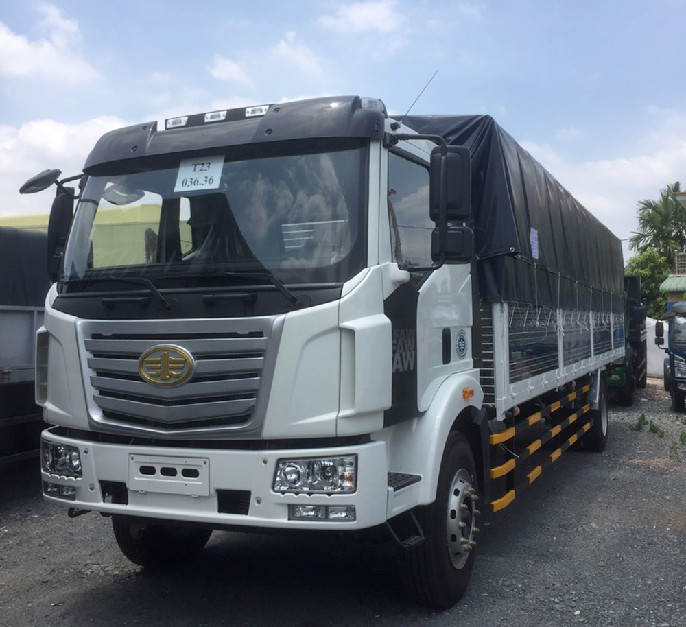 www.123nhanh.com: Bán xe FAW 7T3 thùng 9m6 giá tốt , giao xe trong 5 ngày