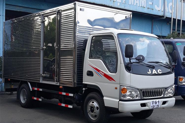 xe tài jac 2t4 l250 thùng 4.3m