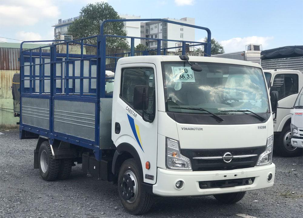 x tải nissan 1.9 tấn