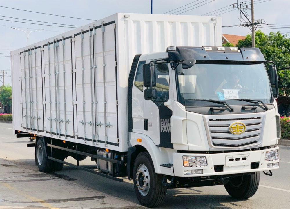 xe tải thùng dài 9m