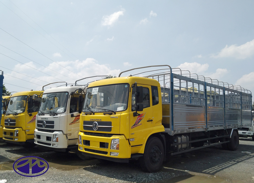xe tải thùng dài 9m6